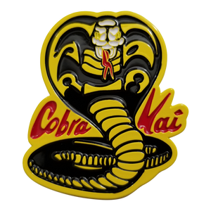 The Karate Kid Cobra Kai Logo Enamel Pin