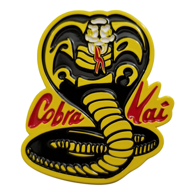 The Karate Kid Cobra Kai Logo Enamel Pin - Icon Heroes