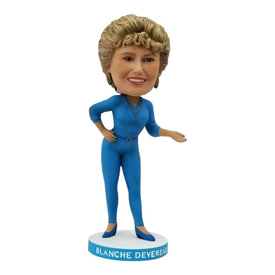 The Golden Girls Blanche Devereaux Polystone  Bobblehead - Icon Heroes