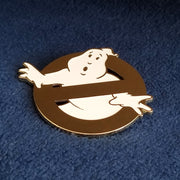 Ghostbusters No Ghost Logo Enamel Pin (Gold Edition) - SDCC Exclusive - Icon Heroes