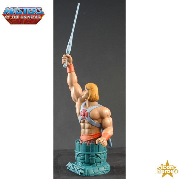 Masters of the Universe He-Man Filmation Mini Bust Paperweight