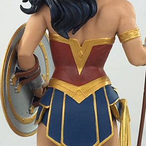 DC Comics Wonder Woman with Spear Rebirth Statue - San Diego Comic Con 2017 Exclusive