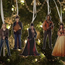Once Upon a Time Metal Ornaments Set of 8