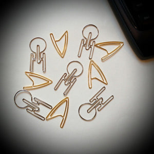 Star Trek TOS Paper Clips