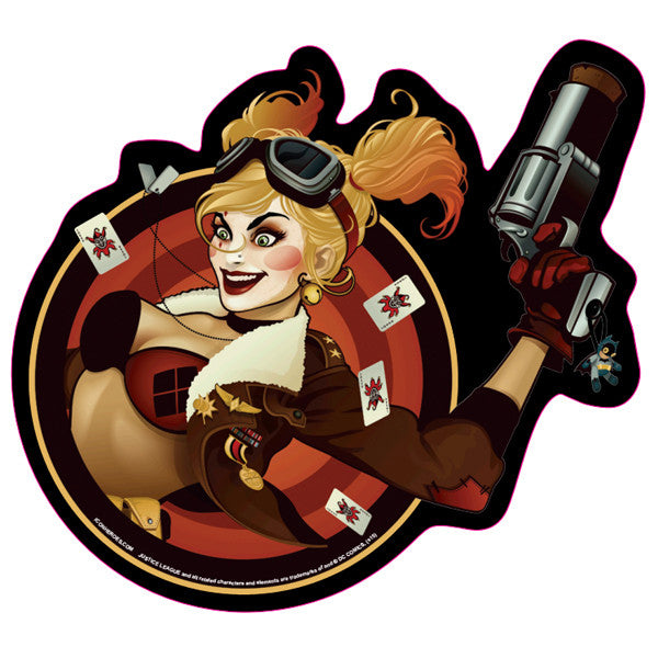 DC Comics Bombshells Harley Quinn Mouse Pad - Icon Heroes