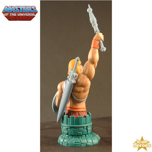 Masters of the Universe He-Man with Battle Axe and Shield Mini Bust Paperweight