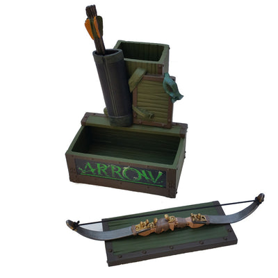 DC Comics Arrow TV Pen and Paper Clip Holder - Icon Heroes