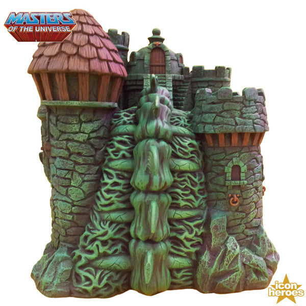 Masters of the Universe Castle Grayskull Polystone Environment