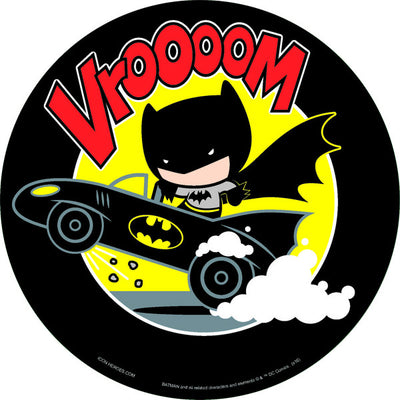 DC Comics Exclusive Batman on Batmobile Chibi Mouse Pad - San Diego Comic 2017 Exclusive - Icon Heroes