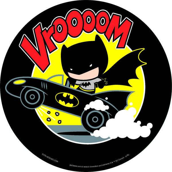 DC Comics Exclusive Batman on Batmobile Chibi Mouse Pad - San Diego Comic 2017 Exclusive