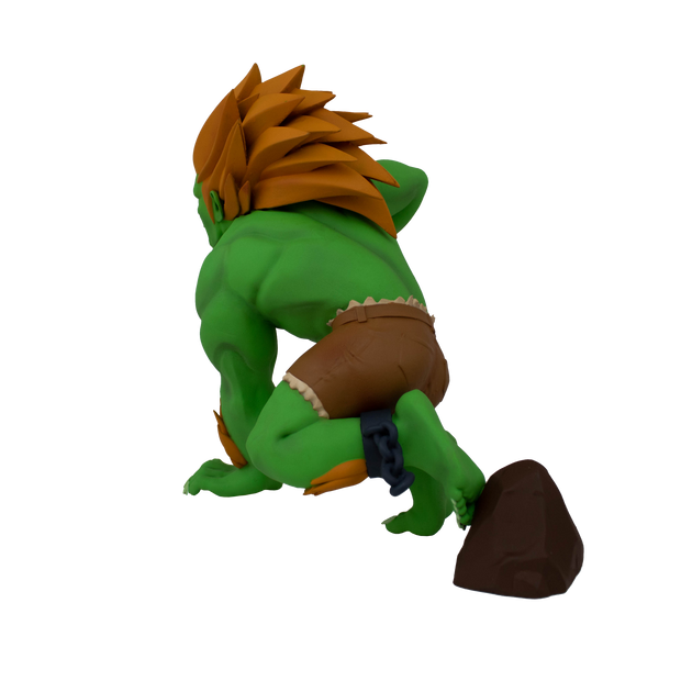 Street Fighter Blanka Unleashed Designer Figure - Available 1st Quarter 2021 - Icon Heroes