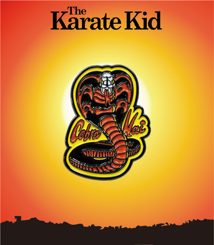 The Karate Kid Cobra Kai Fire Enamel Pin - Exclusive - Icon Heroes