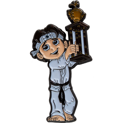 The Karate Kid Daniel Larusso ICONS Enamel Pin - Exclusive - Icon Heroes