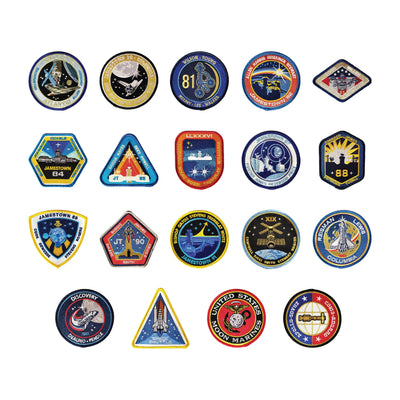For All Mankind Season 2 Patches Set (Ronald D. Moore Autograph Edition) - Icon Heroes