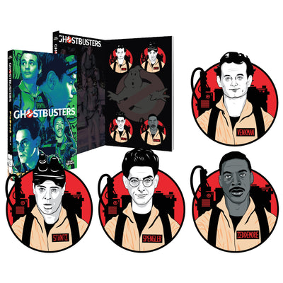 Ghostbusters Enamel Pins PinBook Vol. 5 Exclusive - Icon Heroes