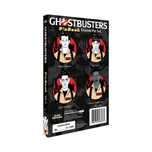 Ghostbusters PinBook Vol. 5 Exclusive - Available 4th Quarter 2020 - Icon Heroes