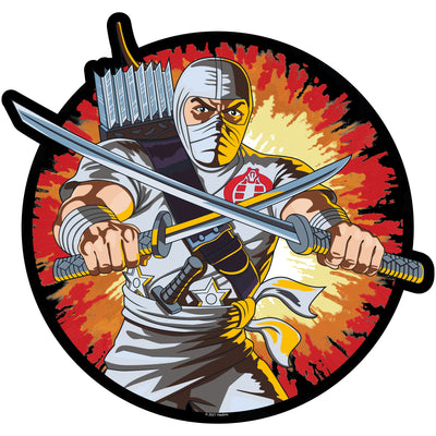 G.I. Joe Storm Shadow Retro Mouse Pad - Available 3rd Quarter 2021 - Icon Heroes