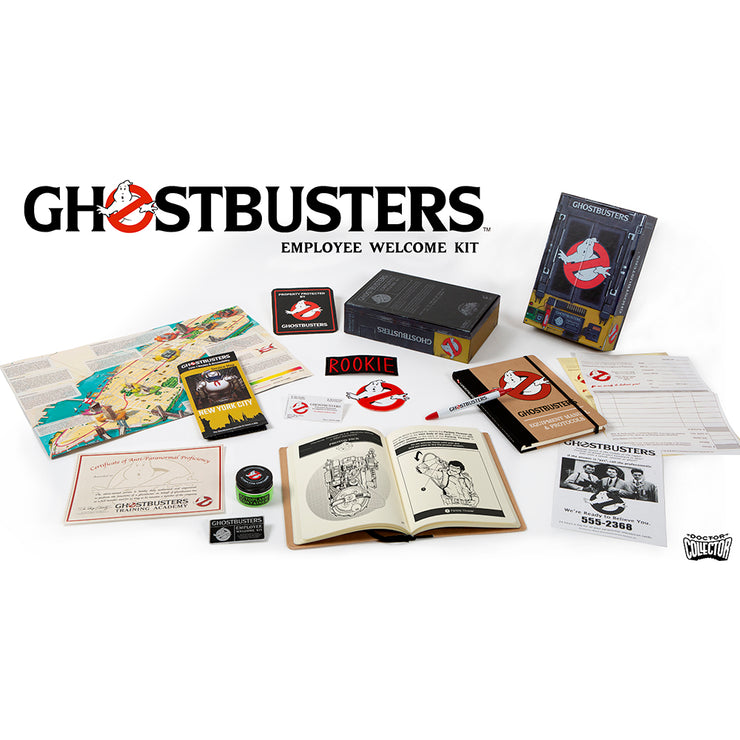 Ghostbusters Employee Welcome Kit