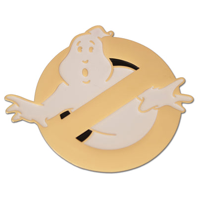 Ghostbusters No Ghost Logo Enamel Pin (Gold Edition) - Exclusive - Icon Heroes