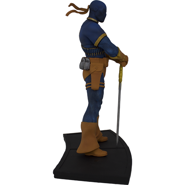 DC Comics The New Teen Titans Deathstroke Polystone Statue - Exclusive