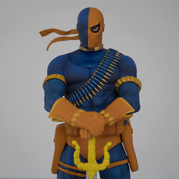 DC Comics New Teen Titans Deathstroke EXCLUSIVE 1/9 Scale Polystone Statue - Available 1st Quarter 2019