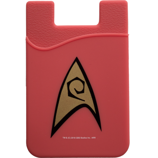 Star Trek TOS Engineering Smartphone Card Holder - Icon Heroes
