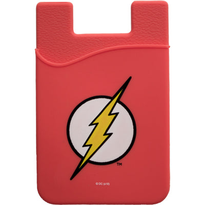 The Flash Logo Smartphone Card Holder - Icon Heroes