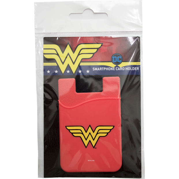Wonder Woman Logo Smartphone Card Holder
