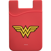 Wonder Woman Logo Smartphone Card Holder - Icon Heroes