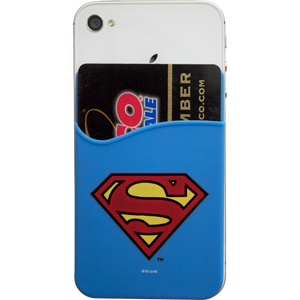 Superman Logo Smartphone Card Holder