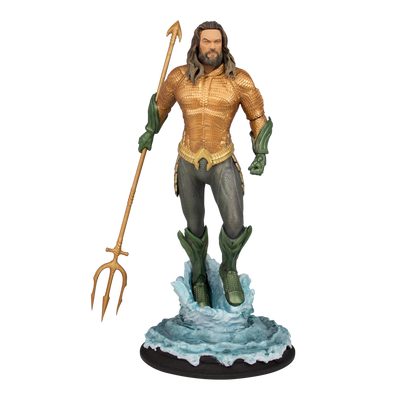 Aquaman Movie Deluxe Statue - Icon Heroes