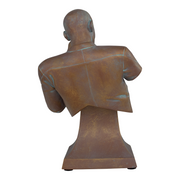 Star Trek TNG Captain Picard Facepalm Faux-Bronze Mini Bust Paperweight (ThinkGeek Exclusive)