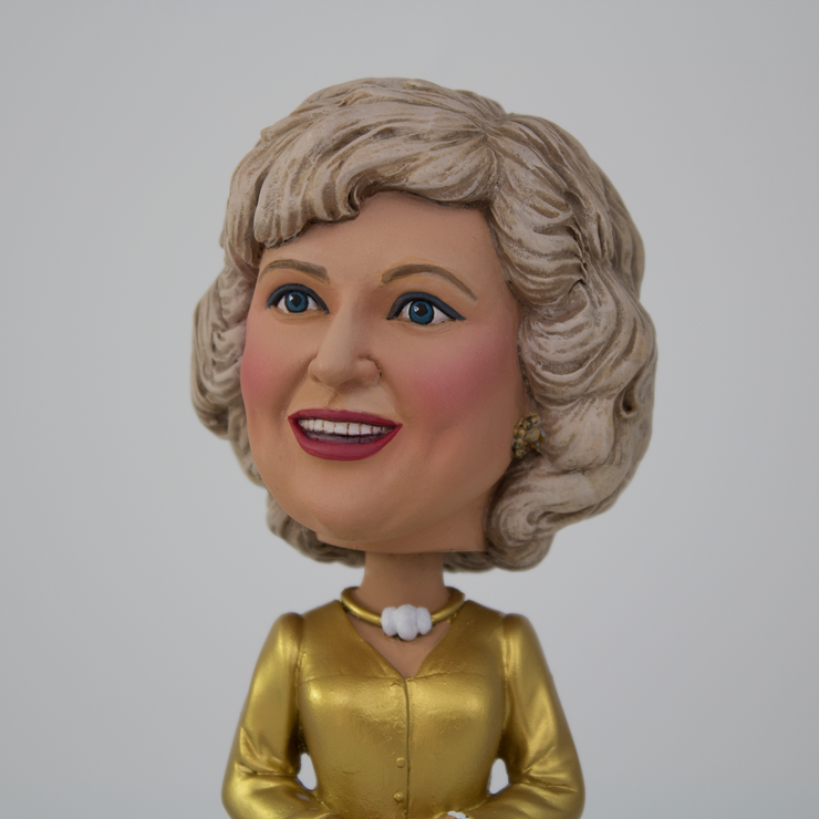 Rose Nylund Gold Dress Bobblehead - Exclusive