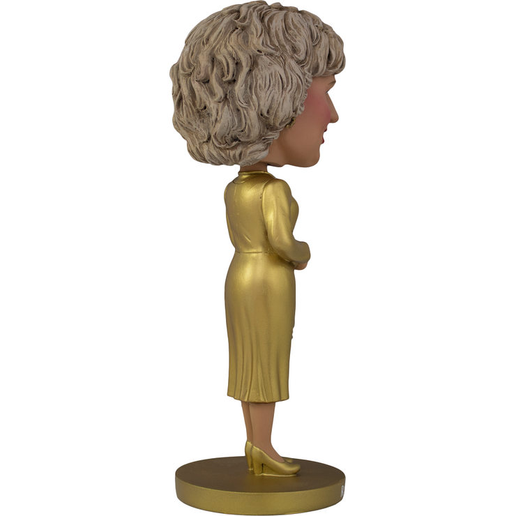 The Golden Girls Rose Nylund Gold Dress Polystone Bobblehead - Exclusive - Icon Heroes