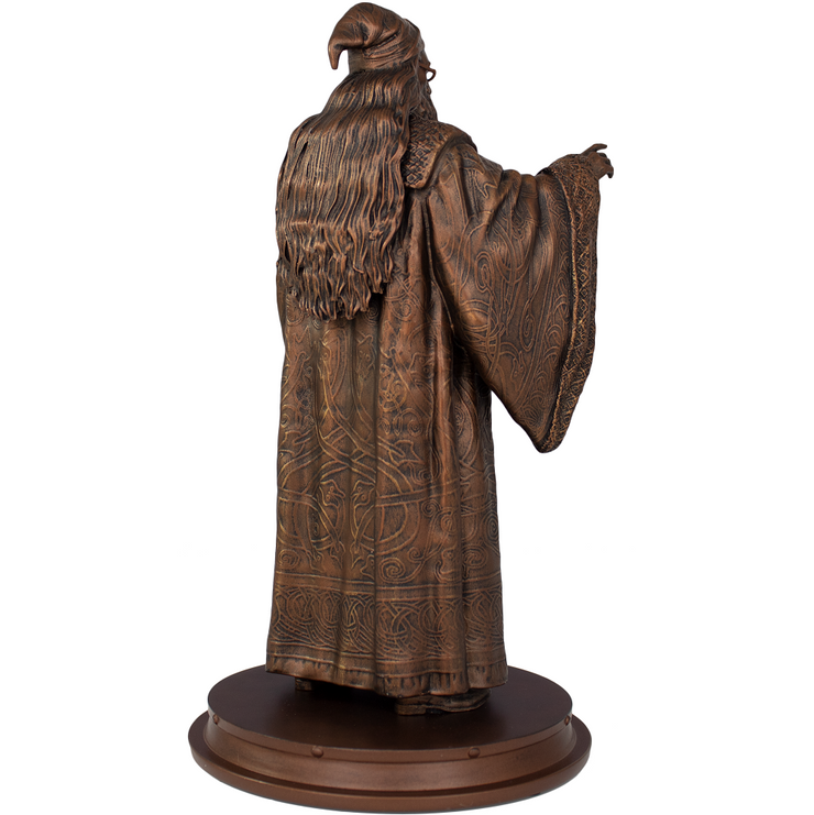 Harry Potter Professor Albus Dumbledore Faux-Bronze Polystone Statue - Exclusive - Icon Heroes