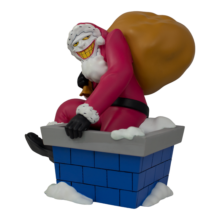 DC Comics The Joker Santa Statue (GameStop Exclusive) - Icon Heroes