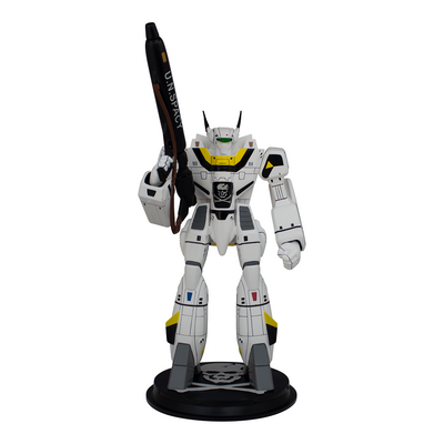 Icon Heroes Robotech VF1S Roy Fokker Battloid Statue