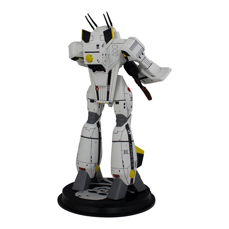 Robotech VF-1S Roy Fokker Battloid 1/42 Scale Polystone Statue - Icon Heroes