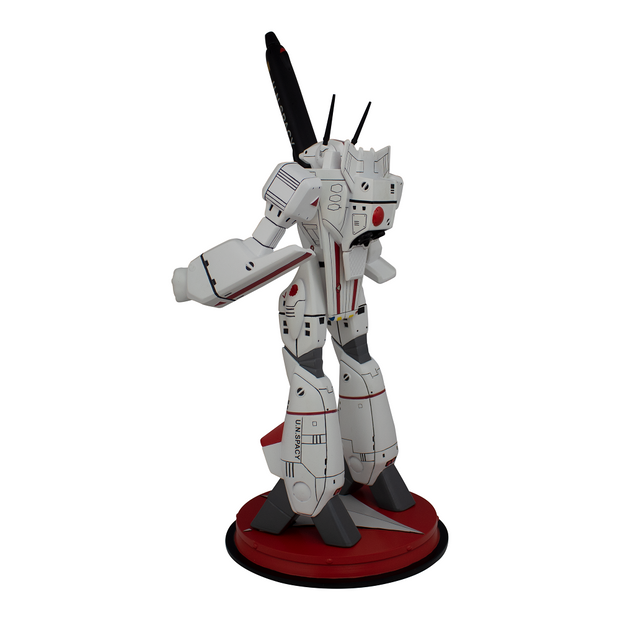 Robotech VF-1J Rick Hunter Battloid 1/42 Scale Polystone Statue - Icon Heroes