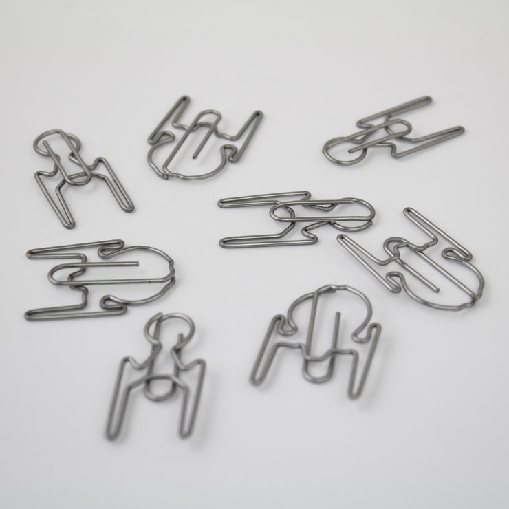 Star Trek Discovery Paper Clips - Icon Heroes