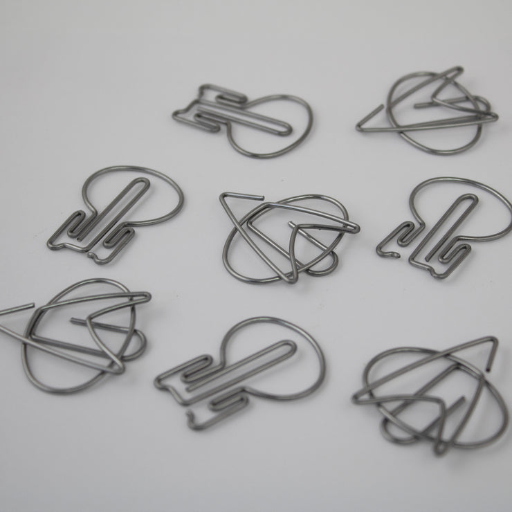 Star Trek TNG Paper Clips - Icon Heroes