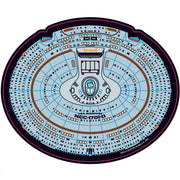 Star Trek TNG NCC-1701-D Saucer Mouse Pad - Exclusive - Icon Heroes
