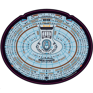Star Trek TNG NCC-1701-D Saucer Mouse Pad - Exclusive