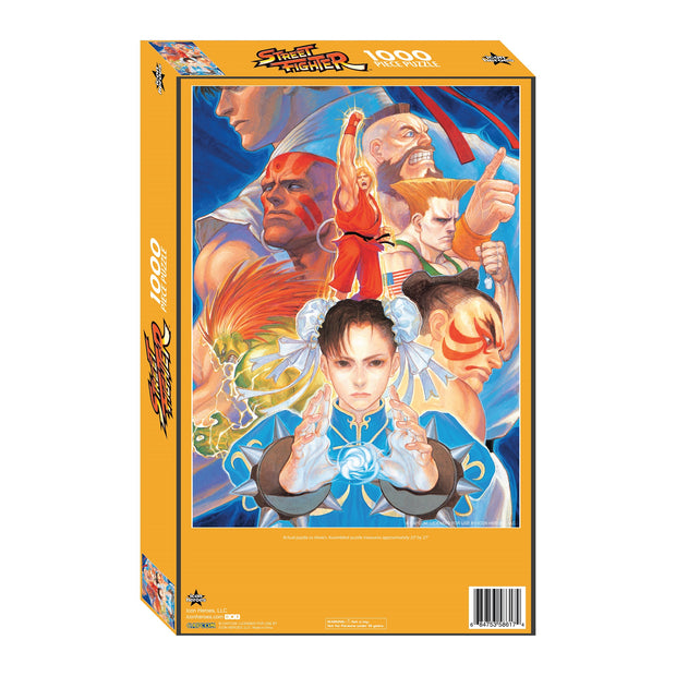 Street Fighter Jigsaw Puzzle by Kinu Nishimura - Available 4th Quarter 2020 - Icon Heroes