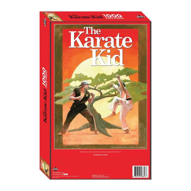 The Karate Kid Daniel v Johnny Jigsaw Puzzle - Available 4th Quarter 2020 - Icon Heroes