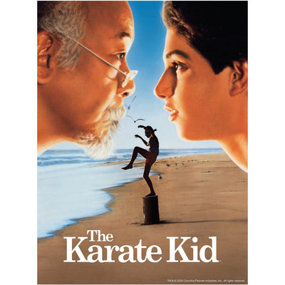 The Karate Kid Movie Poster Jigsaw Puzzle - Available 2nd Quarter 2021 - Icon Heroes