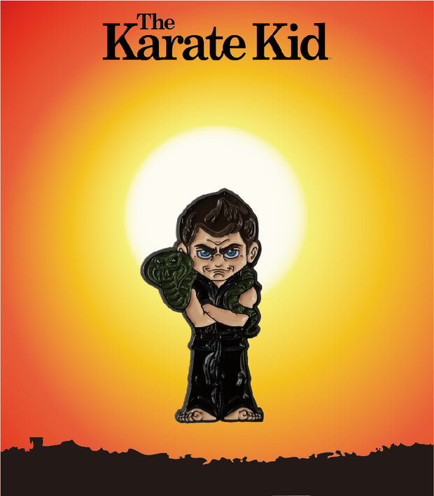 The Karate Kid John Kreese ICONS Enamel Pin - Exclusive - Icon Heroes