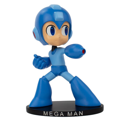 Mega Man Classic Polystone Bobblehead - Available 2nd Quarter 2021 - Icon Heroes