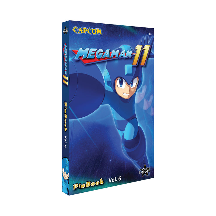 Mega Man 11 PinBook Vol. 6 - Available 1st Quarter 2021 - Icon Heroes