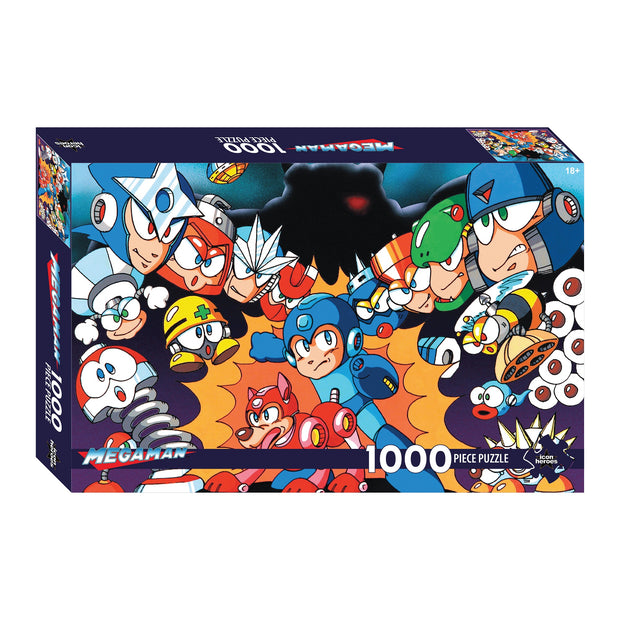 Mega Man Series 1 Jigsaw Puzzle - Available 4th Quarter 2020 - Icon Heroes